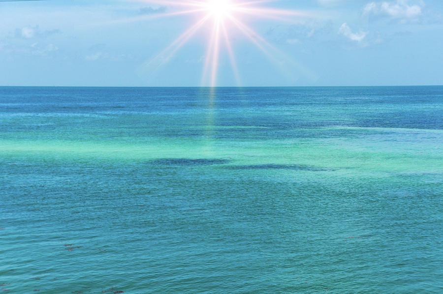 Atlantic Ocean Photograph - View Of The Atlantic Ocean by Art Spectrum