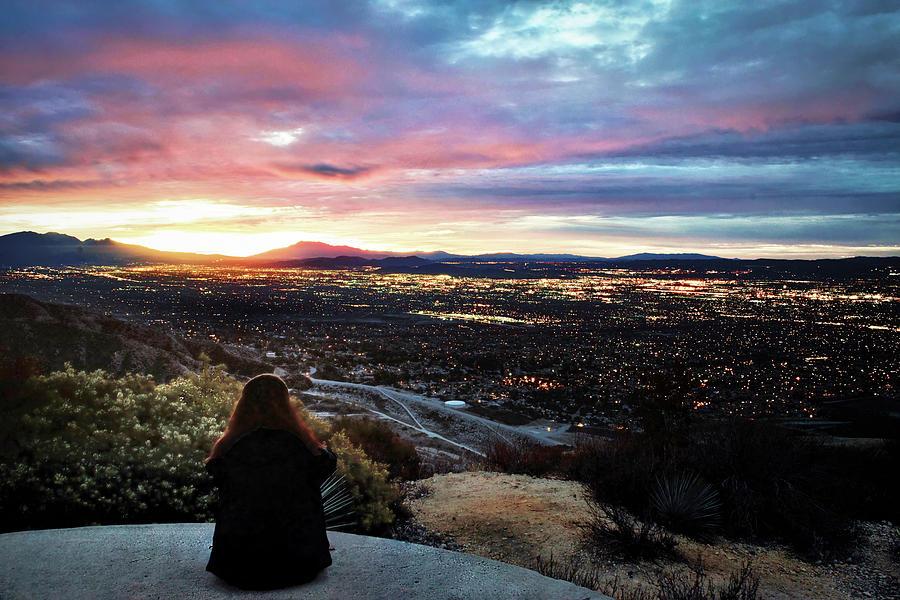 View Over San Bernardino by Rick J Brown