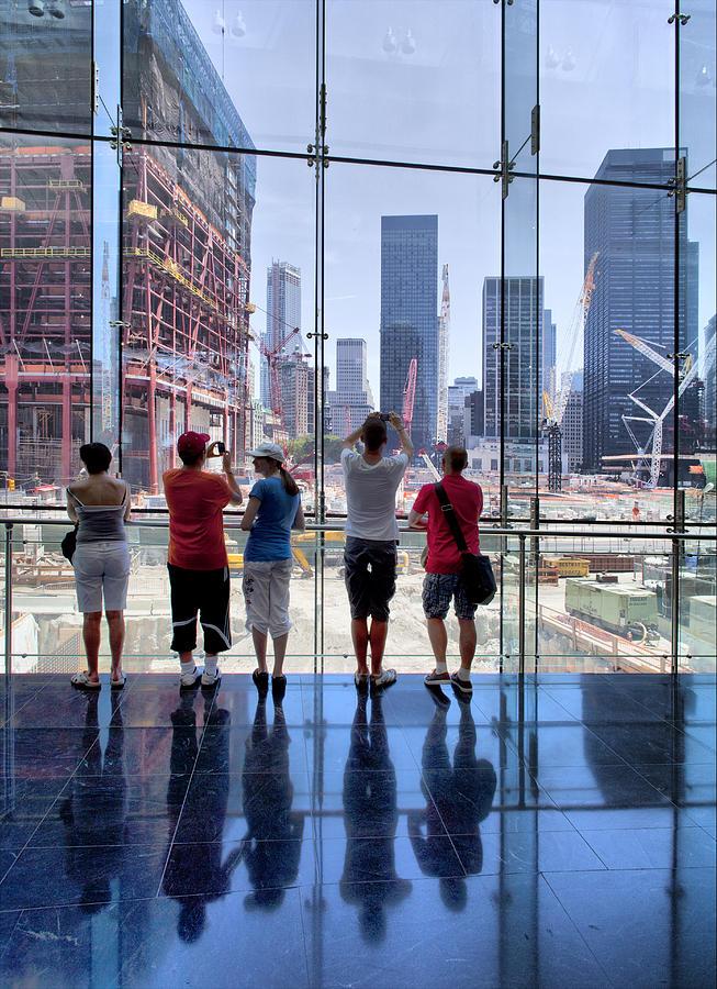 Ground Zero Photograph - Viewing Ground Zero by Robert Ullmann