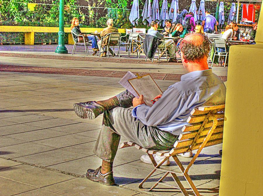 Park Photograph - Viewing Man by Francisco Colon