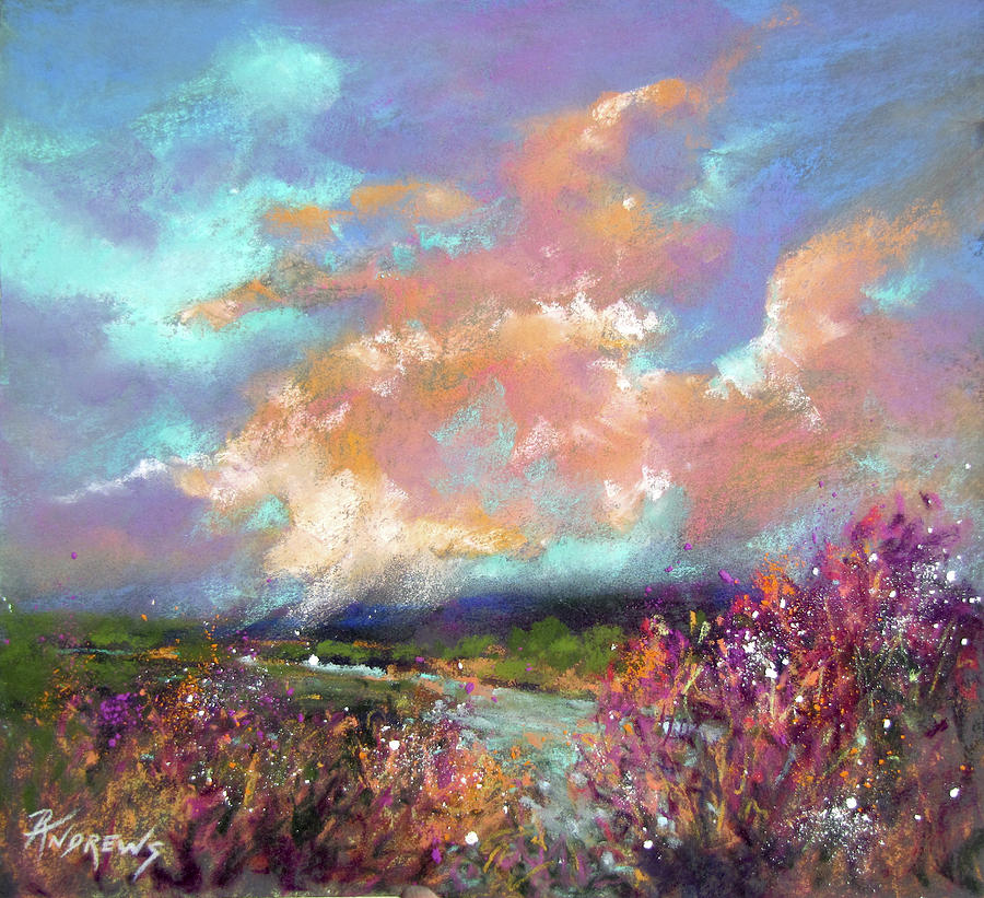 Landscape Painting - Viewpoint by Rae Andrews