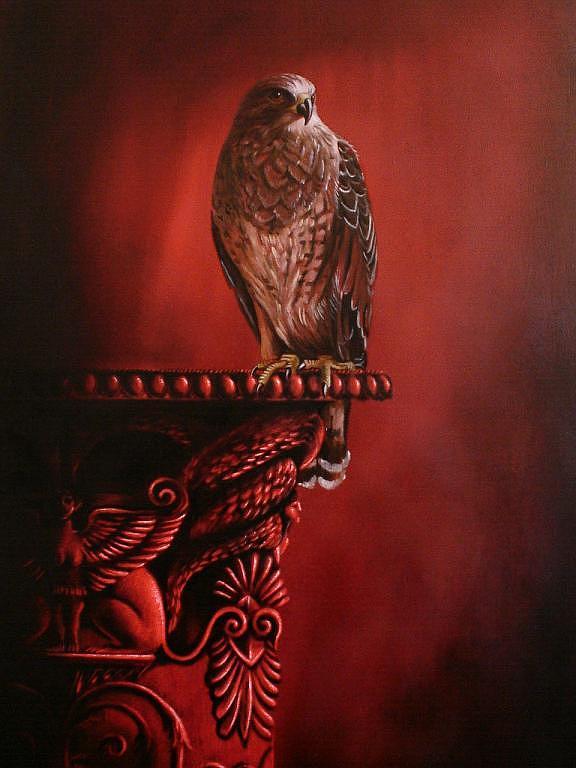 Animal Painting - Vigia by Jorge Porras