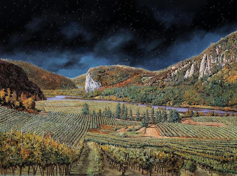 Vigne Nella Notte Painting