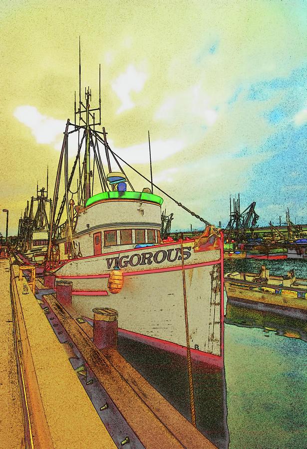 Boat Photograph - Vigorous by Dale Stillman