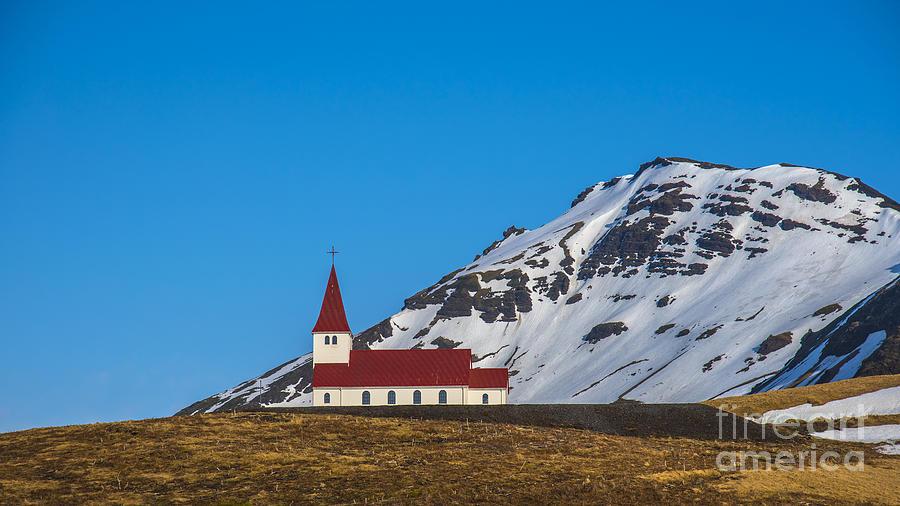 Vik Church Iceland Photograph