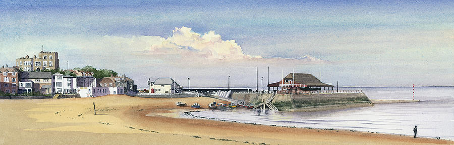 Seascape Painting - Viking Bay Broadstairs by Martin Howard