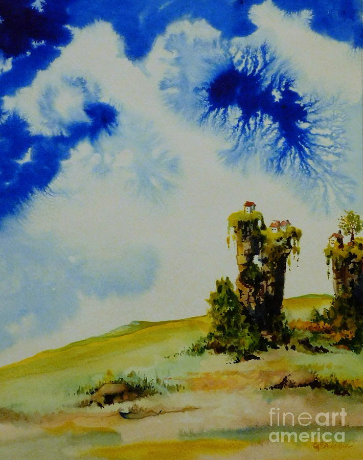 Village at the Edge of the World by CHERYL EMERSON ADAMS