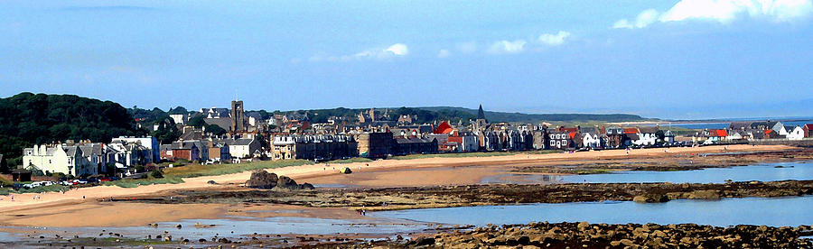 Scotland Photograph - Village By The Sea by Lyle  Huisken