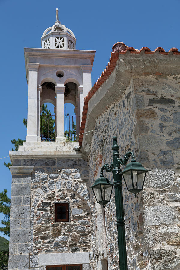 Greece Photograph - Village Church In Greece by Al Poullis