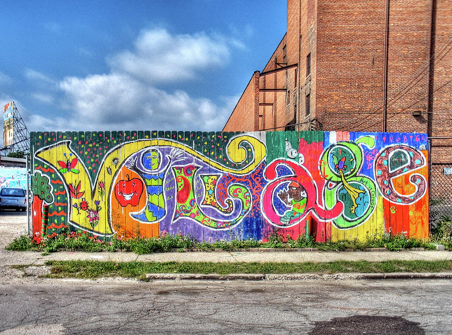 Detroit Photograph - Village Fence by David Kyte