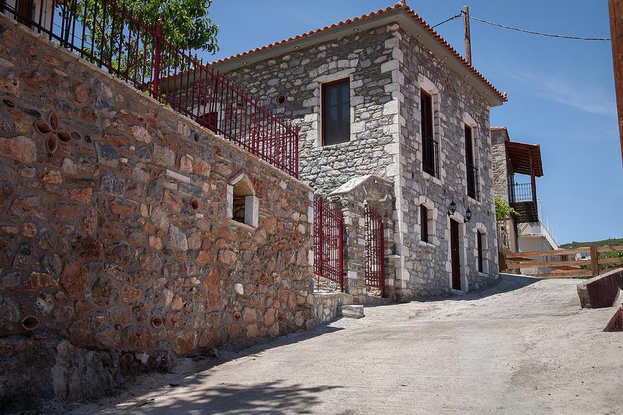 Greece Photograph - Village In Greece by Al Poullis