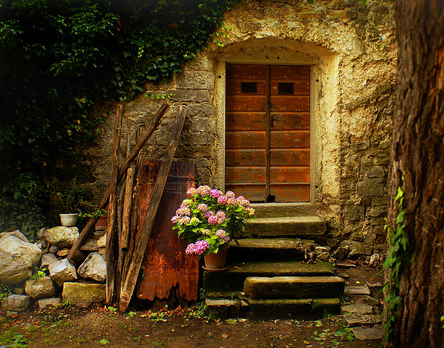 Hum Photograph - Village Of Hum Croatia by Don Wolf