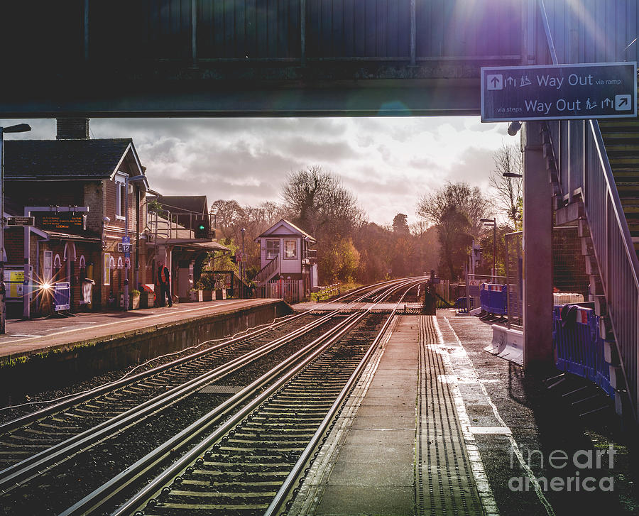 The Village Train Station by Perry Rodriguez