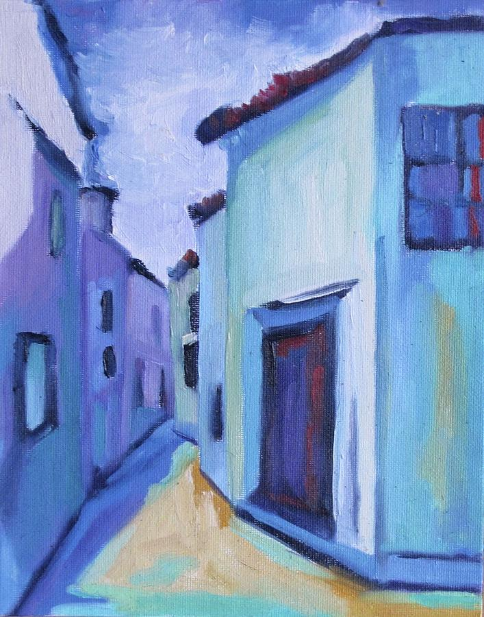 Spain Painting - Villalba Unrestrained by Laurelle Cidoncha