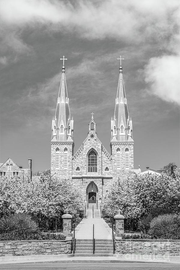 Villanova University St Thomas Chapel Photograph By University Icons