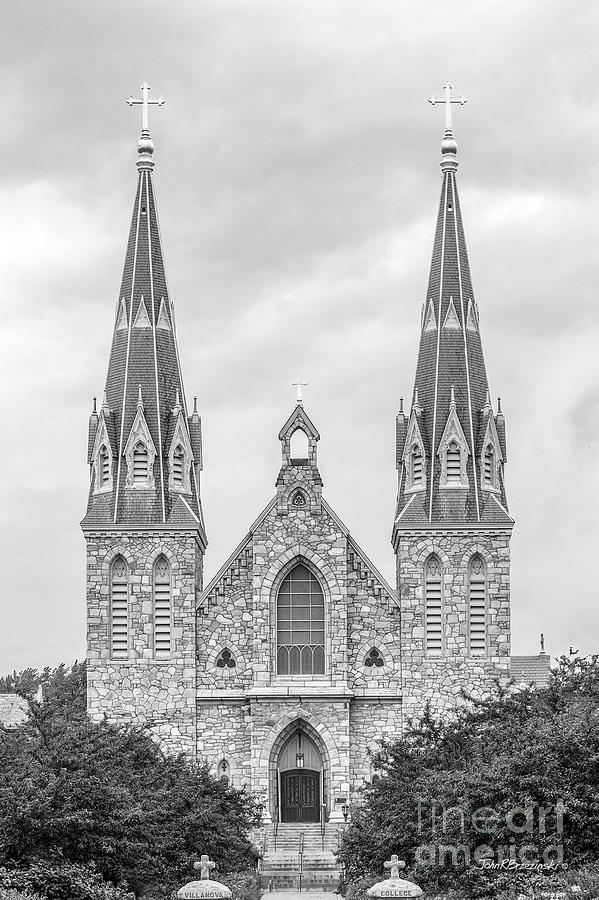 Order Of Saint Augustine Photograph - Villanova University St. Thomas Of Villanova Church by University Icons