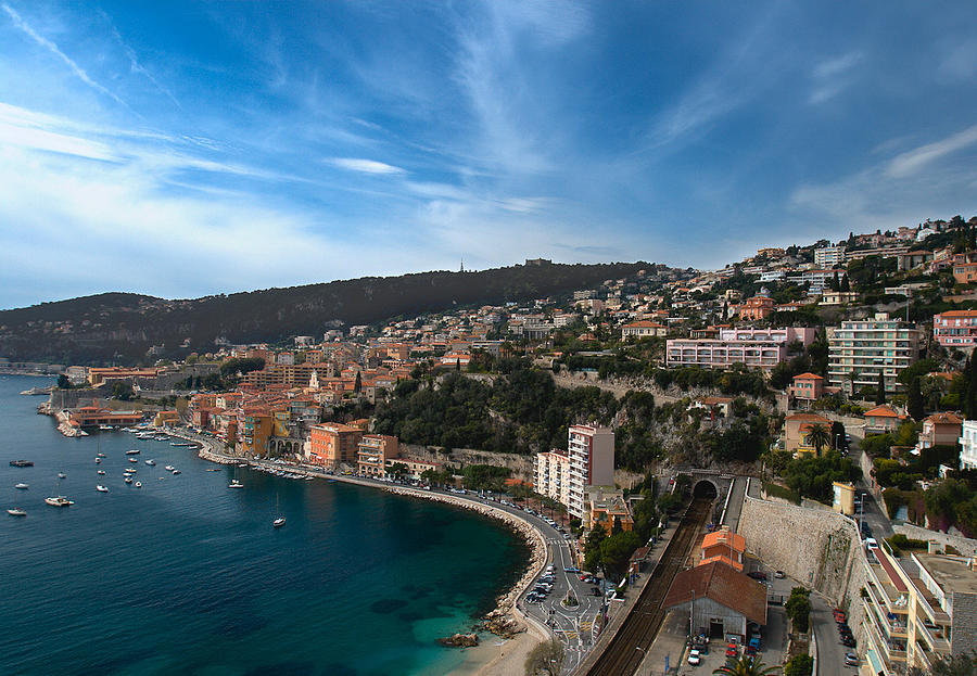 France Photograph - Villefrance Sur Mer by  Samdobrow  Photography