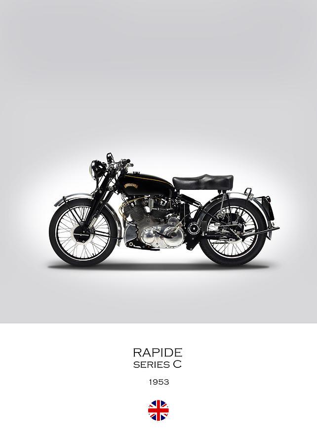 Vincent Rapide Photograph - Vincent Rapide 1953 by Mark Rogan