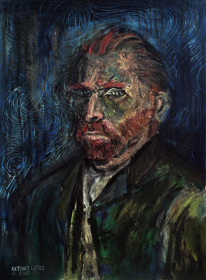 Letters Painting - Vincent Van Gogh    by Antonio Ortiz