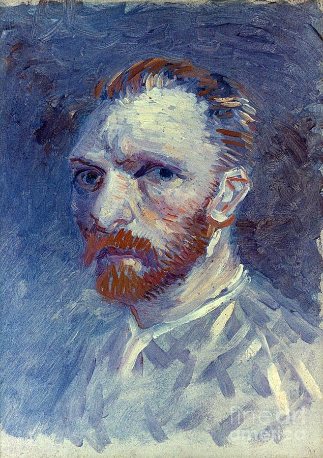 1887 Photograph - Vincent Van Gogh by Granger