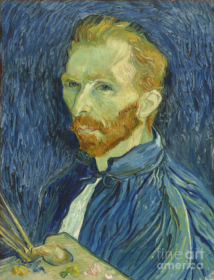 Vincent Van Gogh Photograph - Vincent Van Gogh Self-portrait 1889 by Vincent Van Gogh