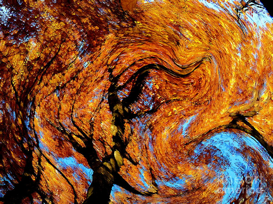 Vincent's Fall Photograph by Abstract Angel Artist Stephen K - photo #40