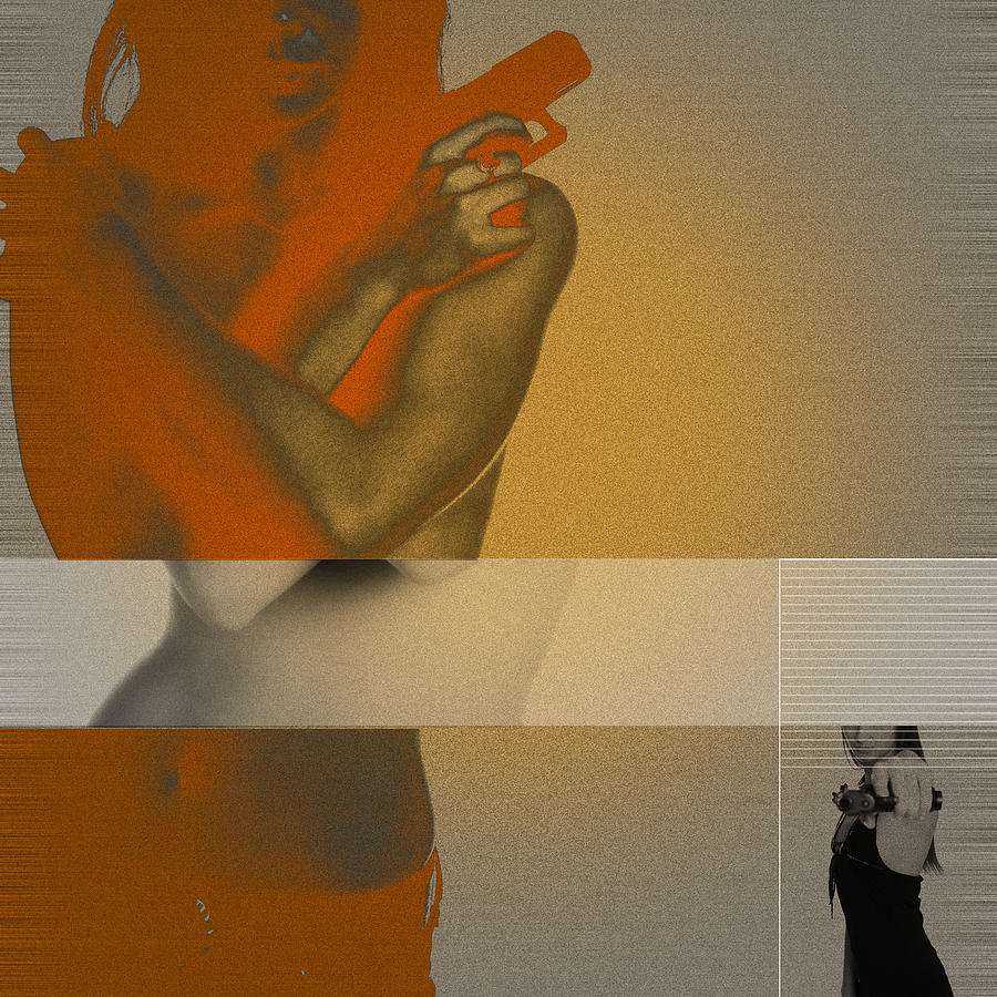 Naked Digital Art - Vindication by Naxart Studio