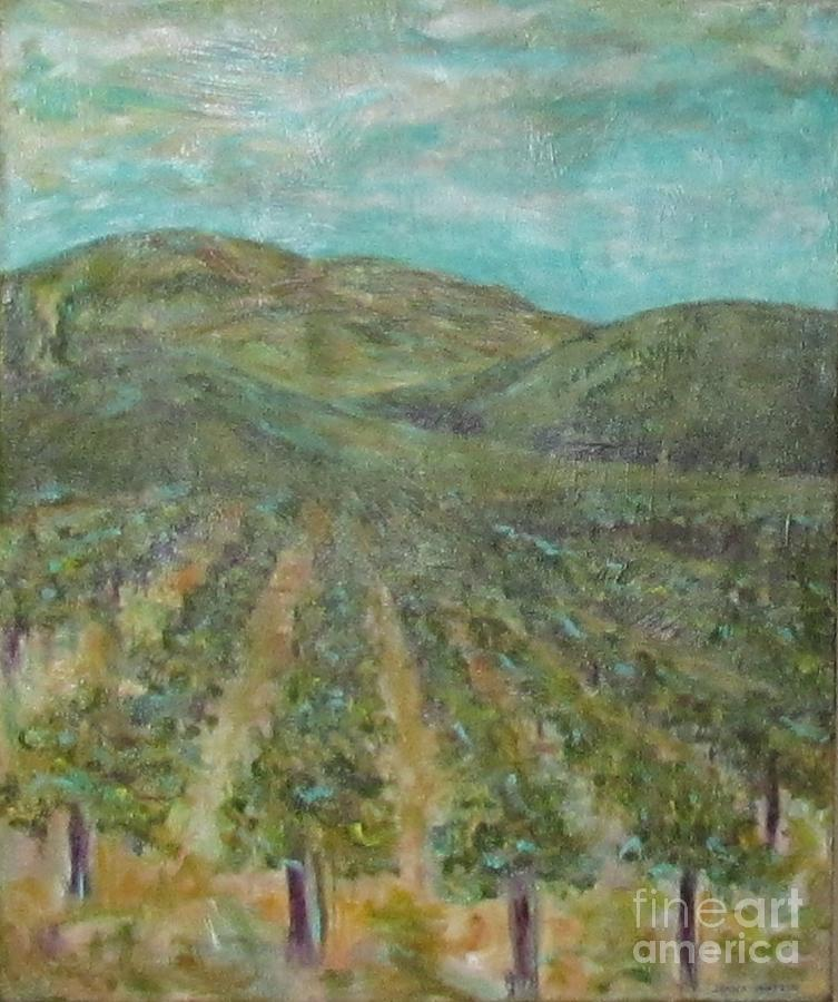 Vineyard #2 by Jeanie Watson
