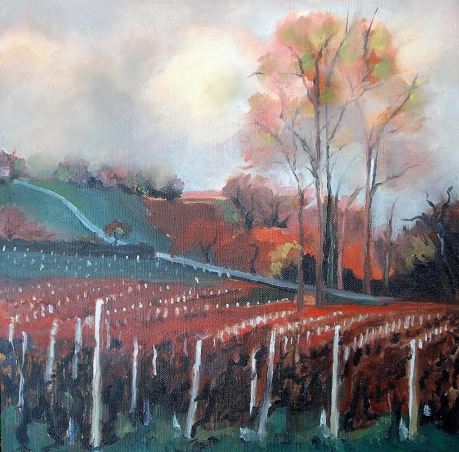 Vineyard Painting