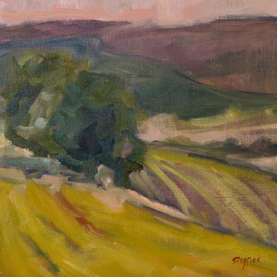 Vinyards Painting - Vineyards Of The Luberon by Susan Scoggins