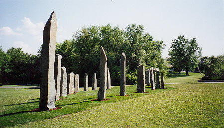 Vinland Sculpture by Jarle Rosseland