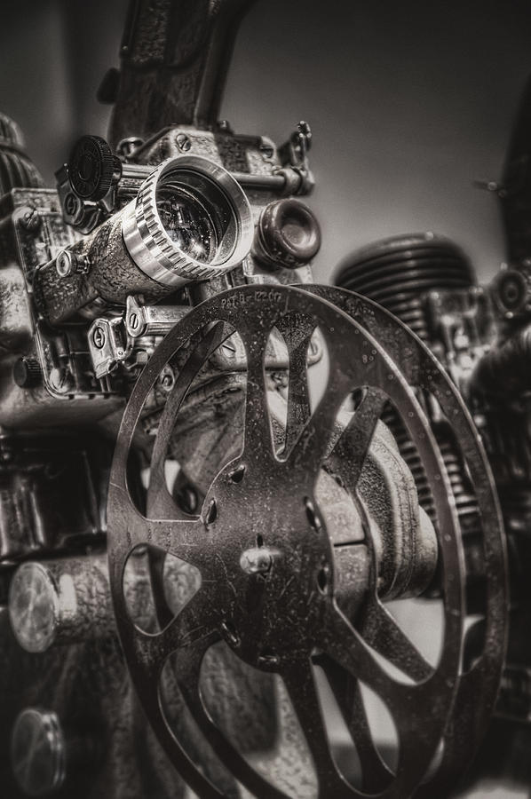 Projector Photograph - Vintage 16mm by Scott Norris