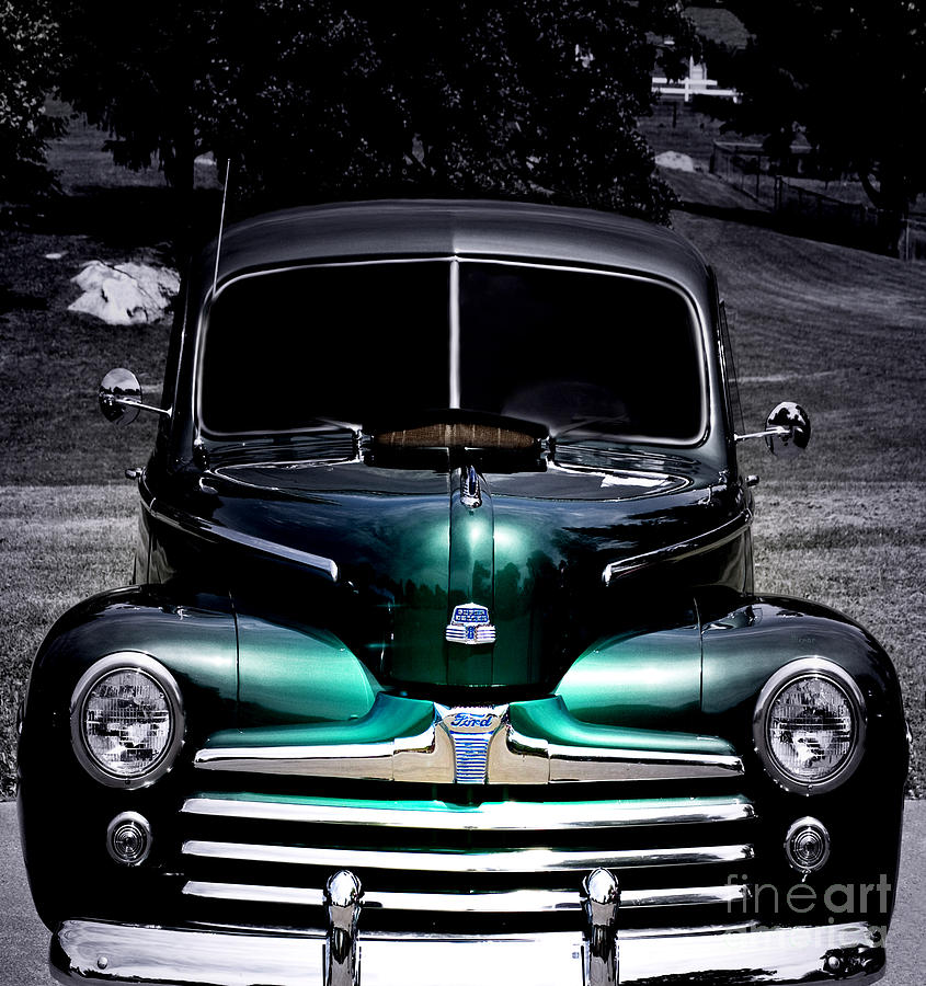 Vintage Cars Photograph - Vintage 1948 Ford by Steven Digman