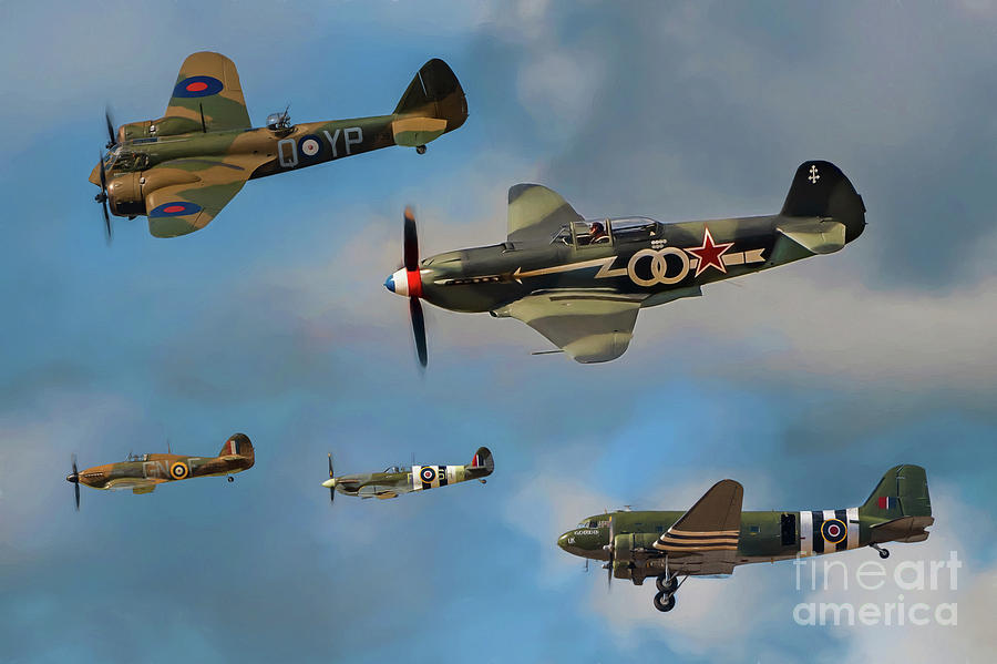 Aircraft Photograph - Vintage Aircraft by Adrian Evans