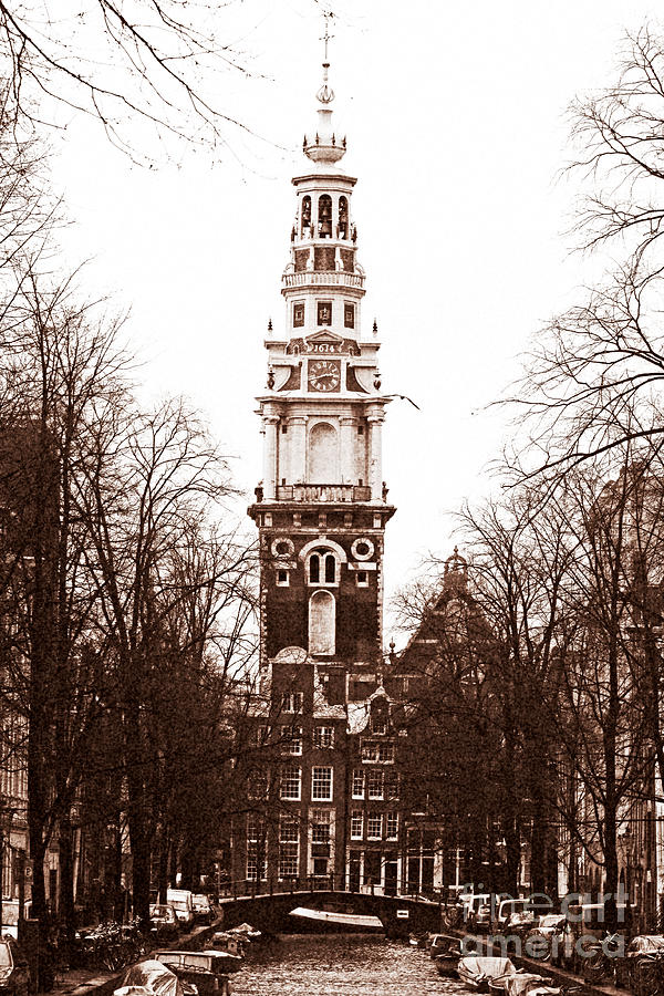 Amsterdam Photograph - Vintage Amsterdam by John Rizzuto