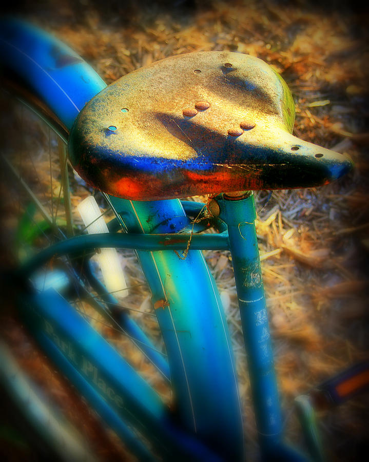 Bike Photograph - Vintage Bike by Perry Webster
