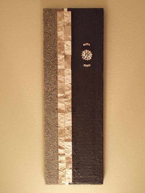 Travertine Mixed Media - Vintage Bling by Curtis Schauer