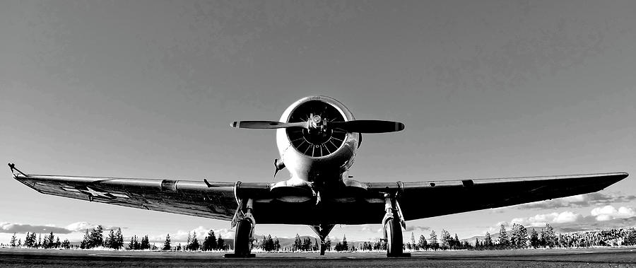 Airplane Photograph - Vintage Bomber by Neil Pankler