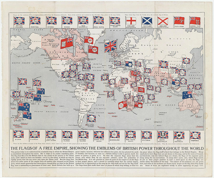 world map of british empire choice image