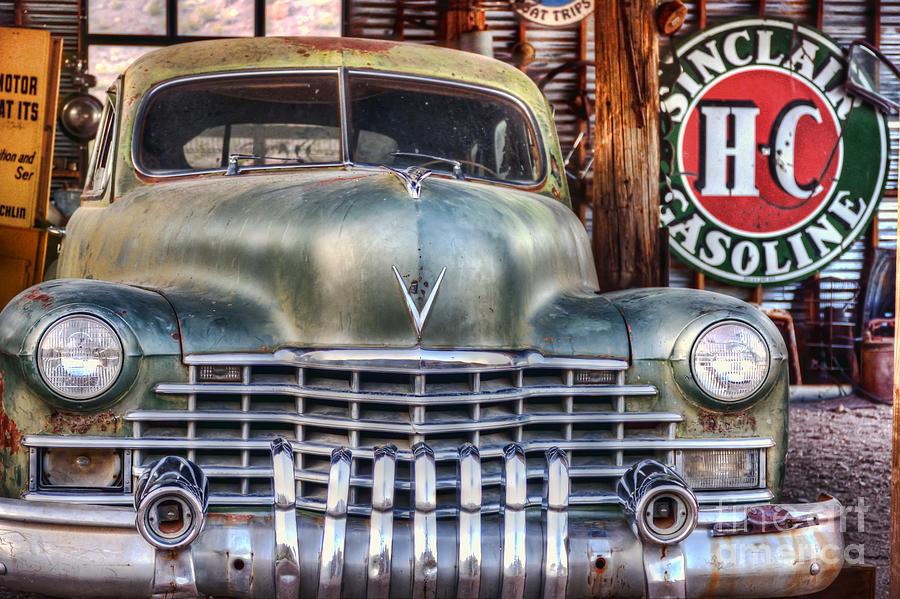 Vintage Photograph - Vintage Cadillac by Eddie Yerkish