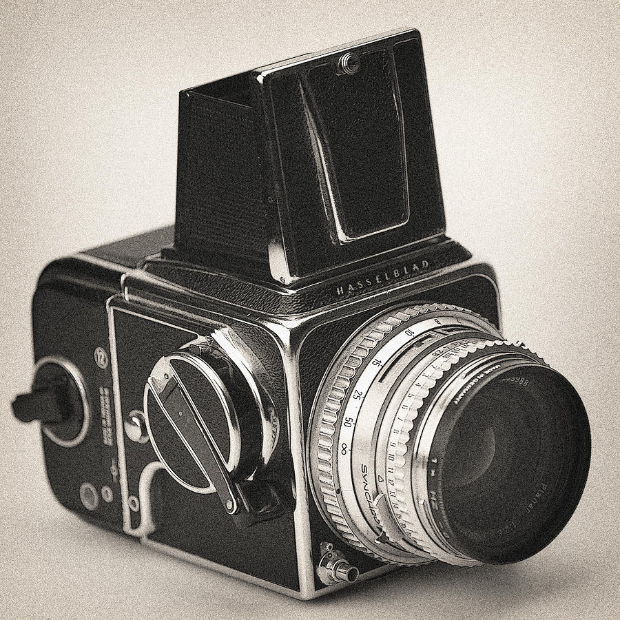 Vintage Camera Hasselblad 500cm by Georgi Djadjarov