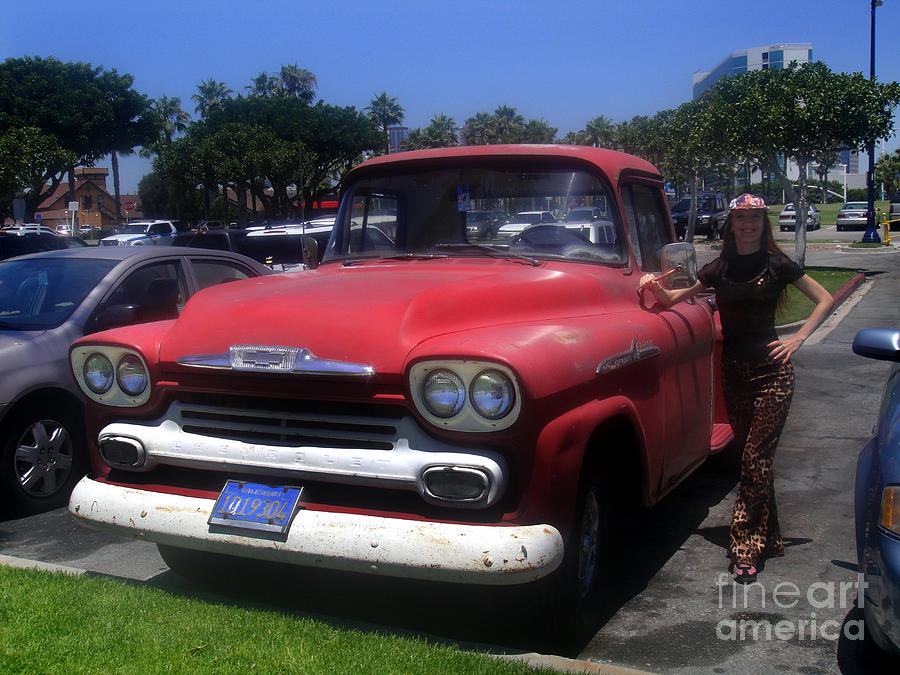 Vintage Car Chevrolet Apache 32 Pickup Photograph By Sofia Metal Queen