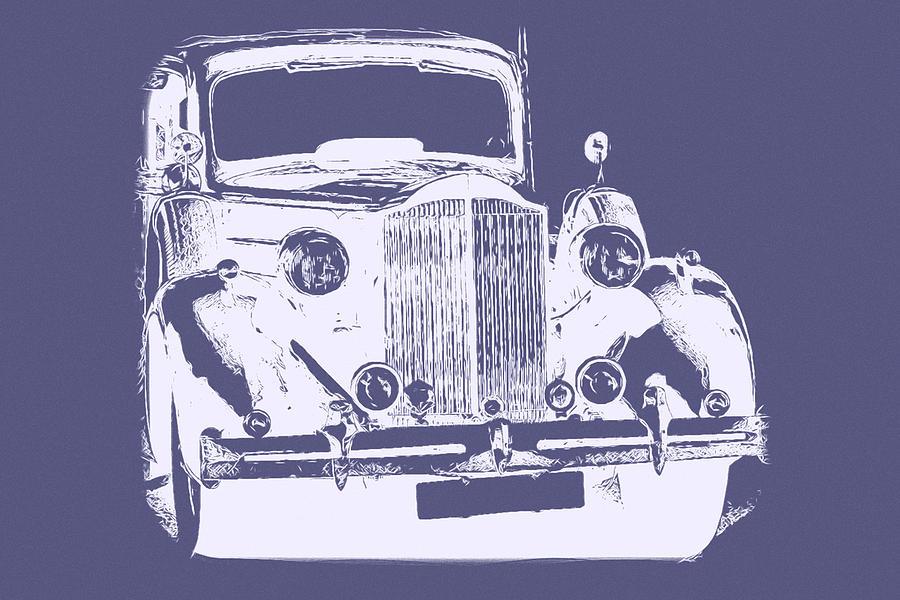 Vintage Car by Mustapha Dazi