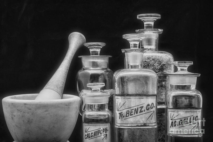 Paul ward photograph vintage chemistry in black and white by paul ward