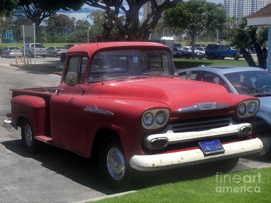 Vintage Chevrolet Apache 32 Pickup Photograph By Sofia Metal Queen