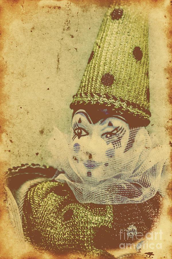 Vintage Circus Postcard Photograph by Jorgo Photography - Wall Art ...