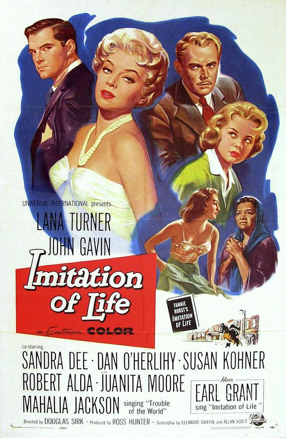 Vintage Classic Movie Posters, Imitation Of Life Painting