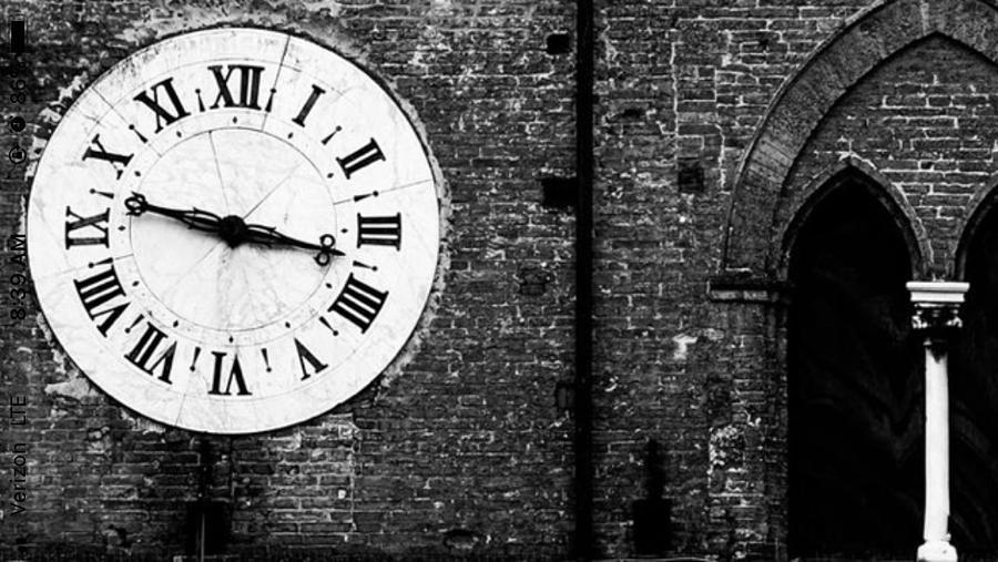 Clock photograph vintage clock by leah stark