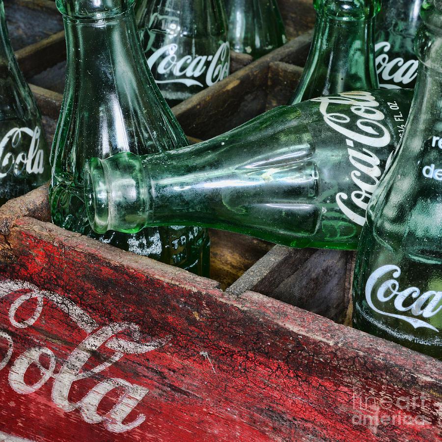 Coke Photograph - Vintage Coke Square Format by Paul Ward