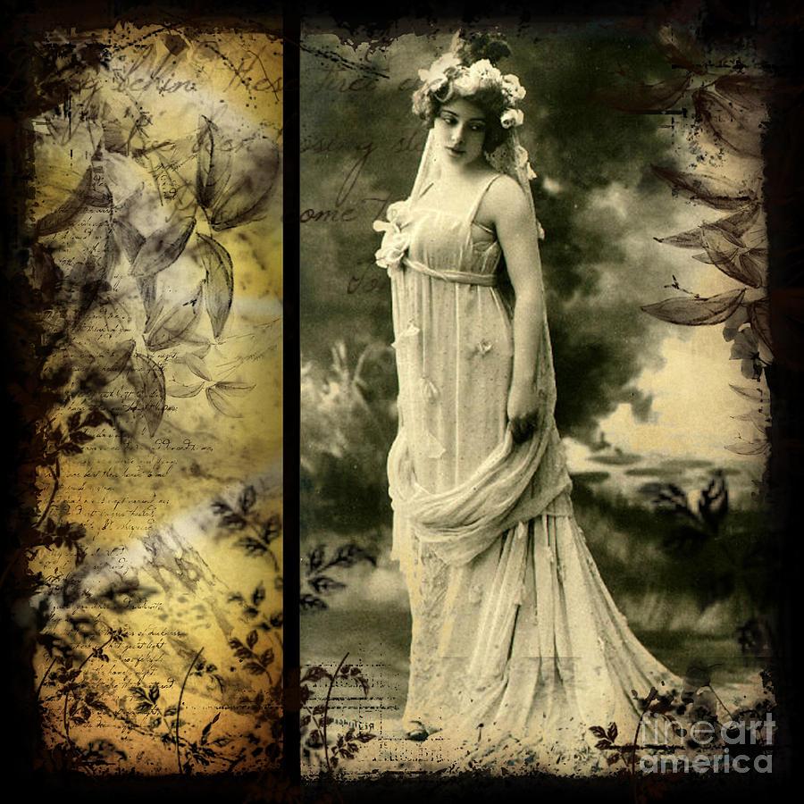 Vintage Photograph - Vintage Collage 24 by Angelina Cornidez